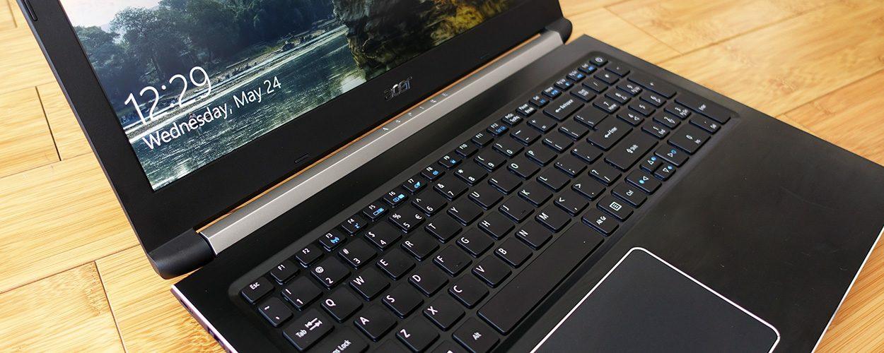 صفحه کلید Acer aspire 7