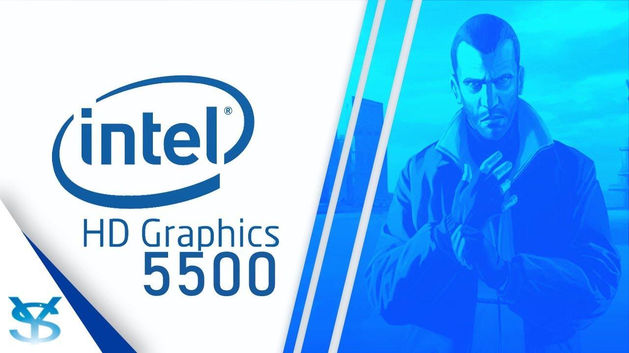 پردازنده گرافیکی مجتمع Intel HD Graphics 5500