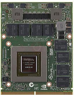 پردازنده گرافیکی Nvidia quadro K3100M
