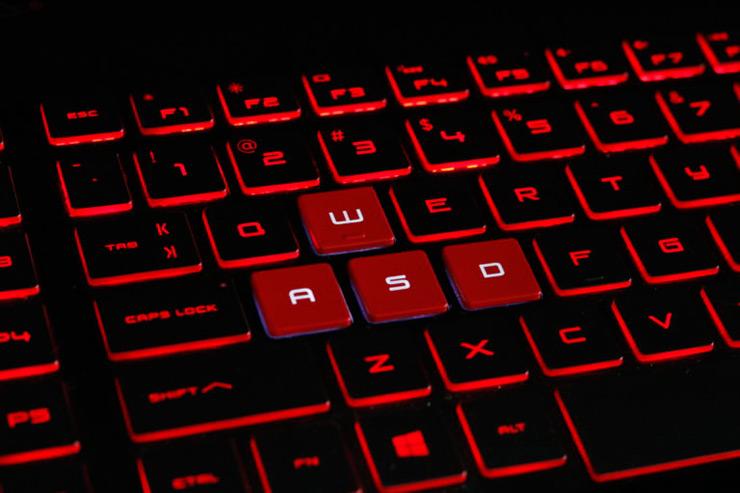صفحه کلید hp omen15dc-1088